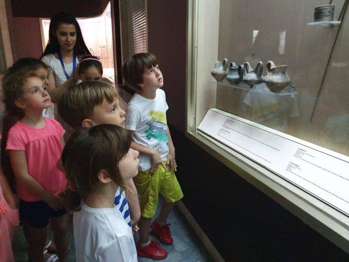 Albanian children