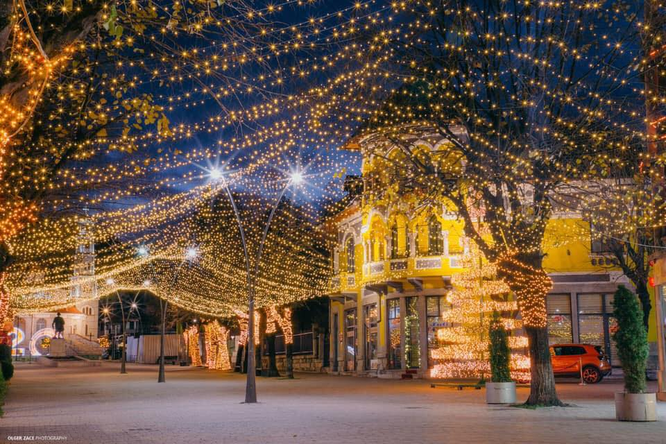 Christmas Lights in Korca