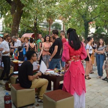 'Global village' event hosted by AIESEC UET on July 24th in Tirana capital