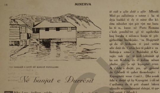 Durres beach 1932