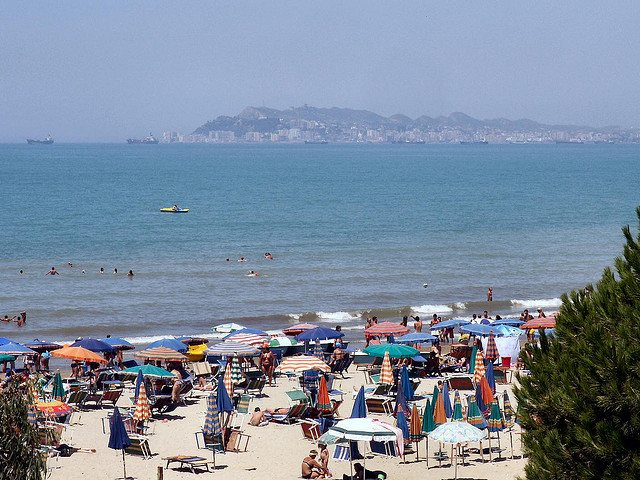 Beach of Durres