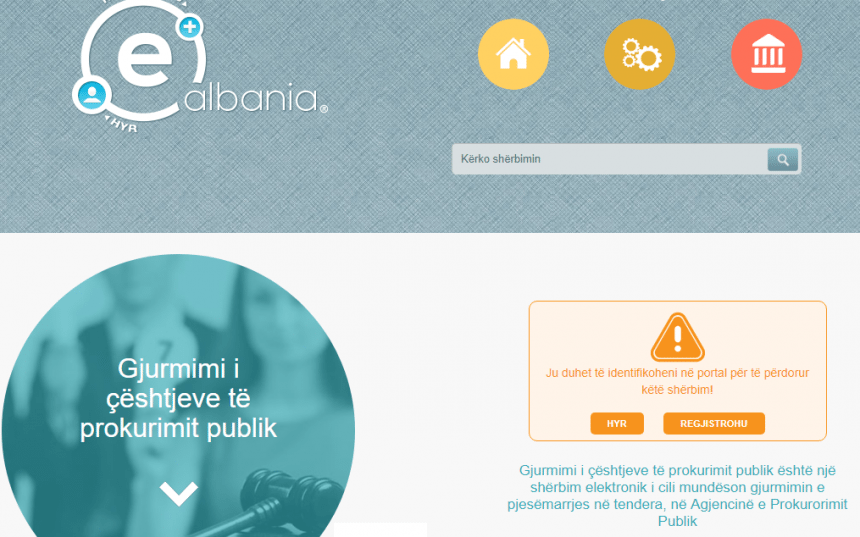 Bid Opportunities Can Now Be Tracked via e-Albania Portal