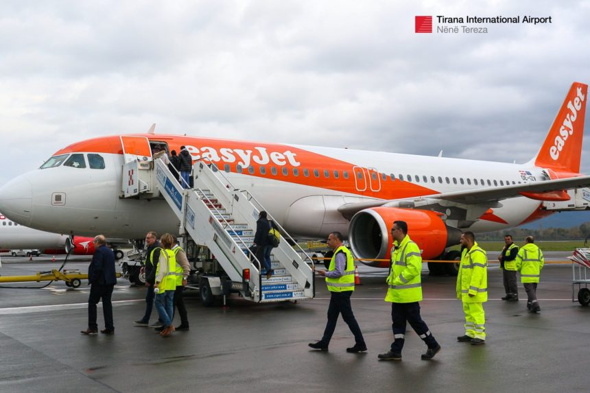 easyJet Launches London-Tirana Route