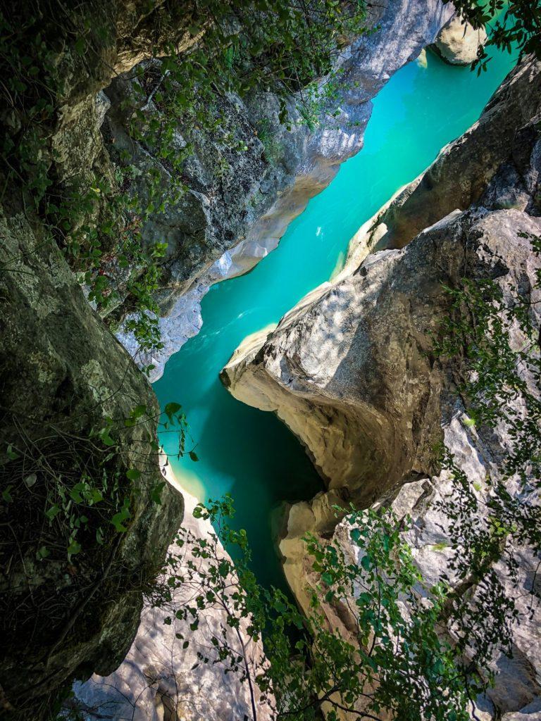 Erzeni canyon