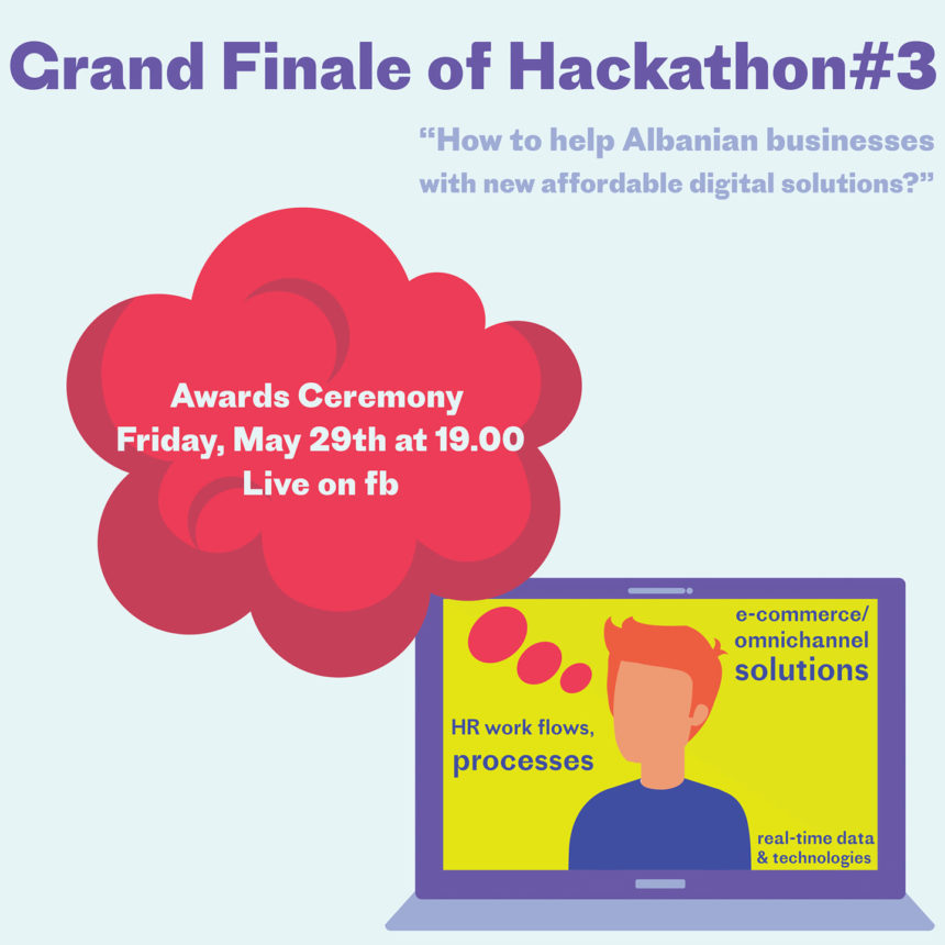 EU for Innovation to Announce 'Digital Solutions for Albanian SMEs' Hackathon Winners