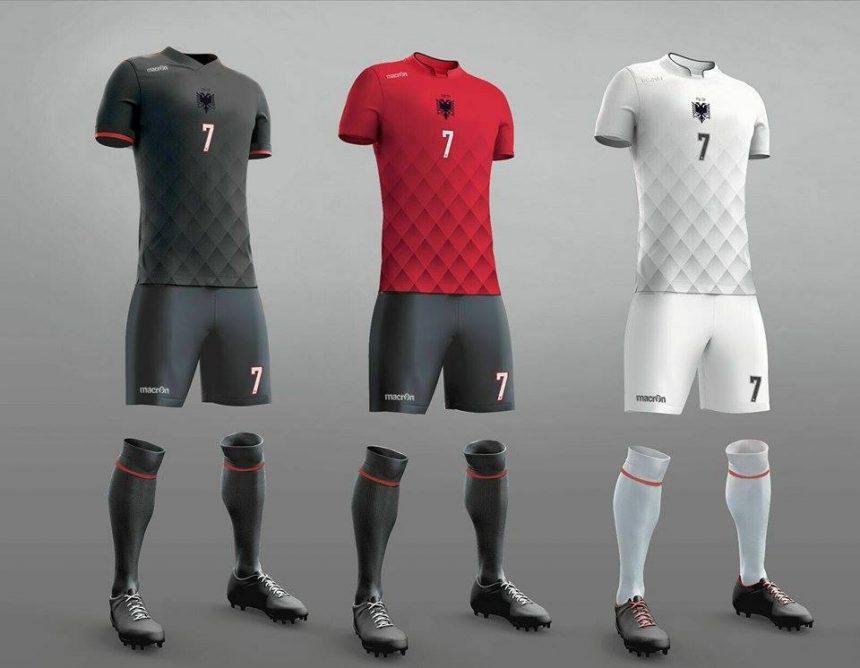 Albania National Football Team Unveils New Kit