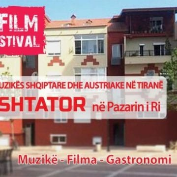 Music-Film Tirana Festival Kicks off at New Bazaar