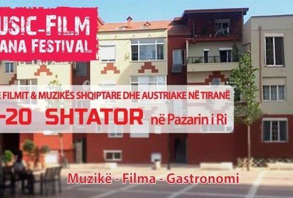 Music-Film Tirana Festival Kicks off at New Bazaar