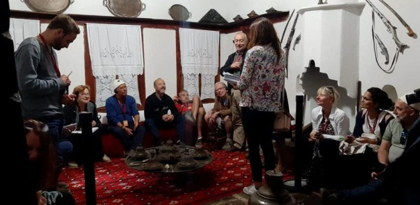 "French Journalists Visit Museum ""Onufri"" in Berat"