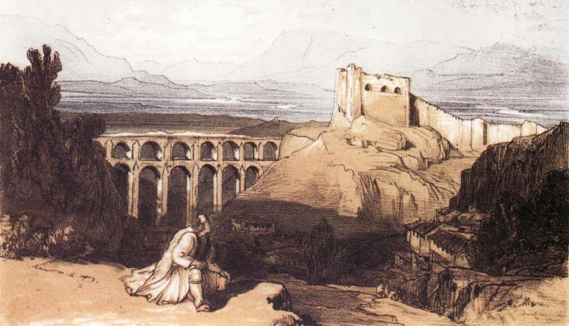 Gjirokastra Edward Lear