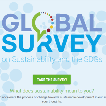 Take the Global Survey on Sustainability and SDGs