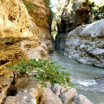 Gradeci Canyons, a Cool Destination to Escape Summer Heat