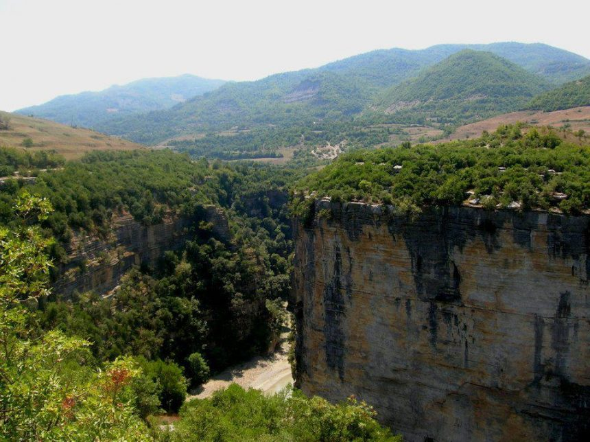 Gradeci Canyon, the Best Destination for Thrill Seekers