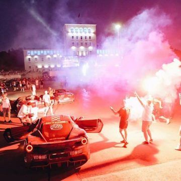 Gumball 3000 Supercars Come to Albania
