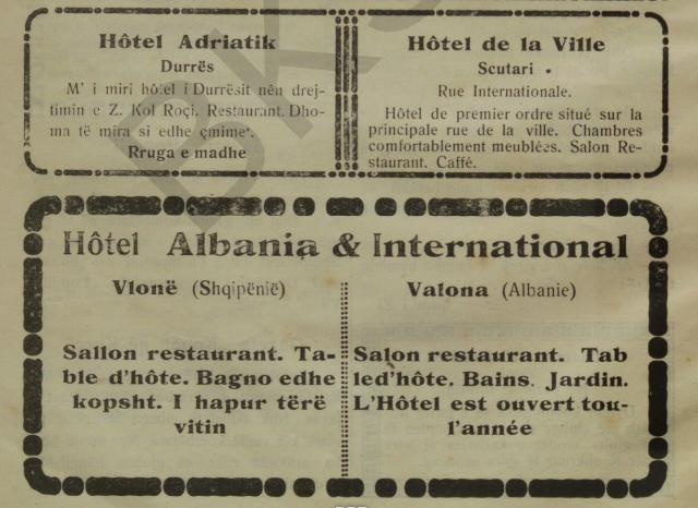 Albanian hotels