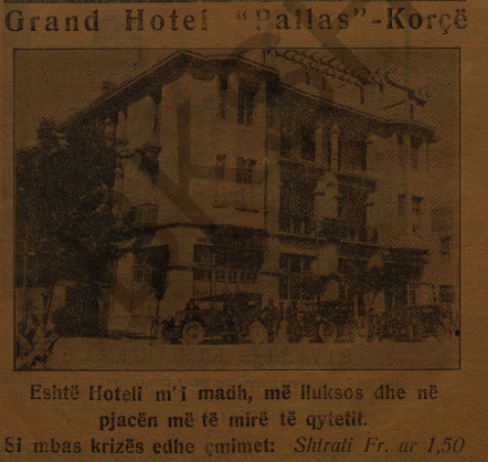 Grand Hotel Pallas Korca
