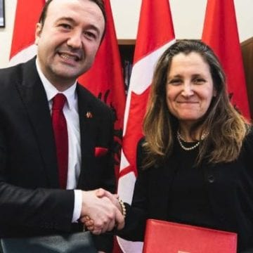Albania and Canada Sign Social Security Agreement