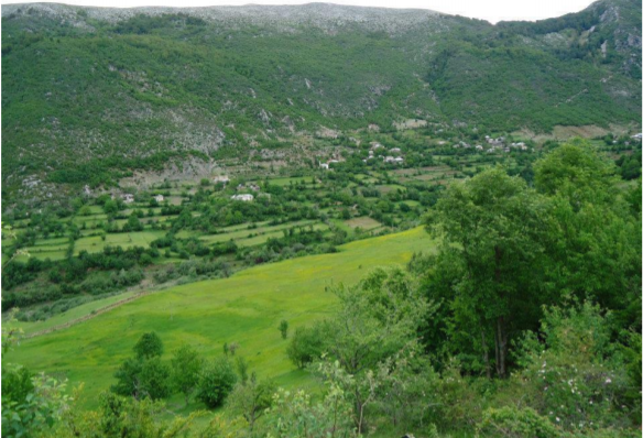 karst field of qarrishta