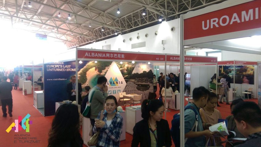Albania presents its touristic potential in COTTM 2015 international tourism fair in Beijing