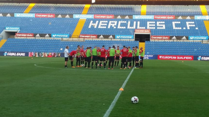 Albania Looking to Surprise Against Spain and Italy