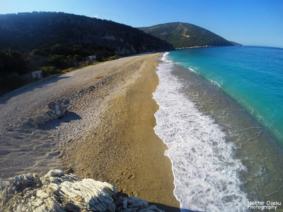 Krorezi beach