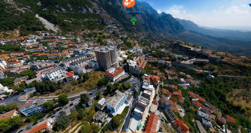 Take a Virtual 360 Degree Tour to Kruja