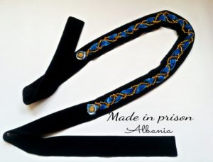 Made in prison hair accessory