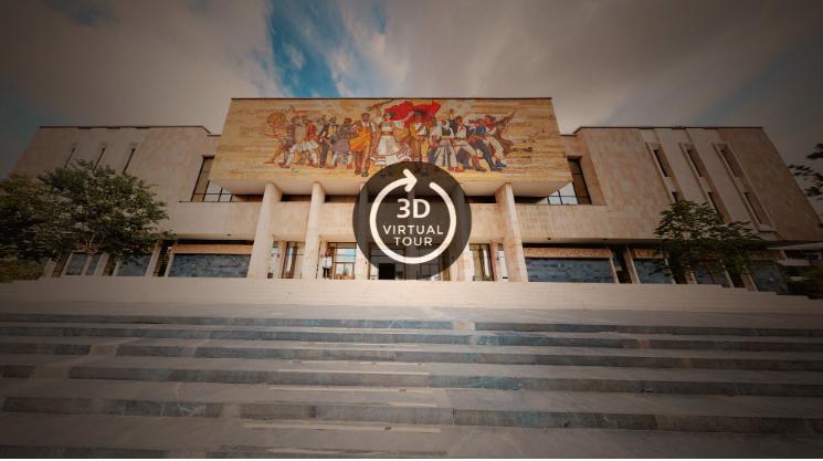 Virtual tour museum Albania