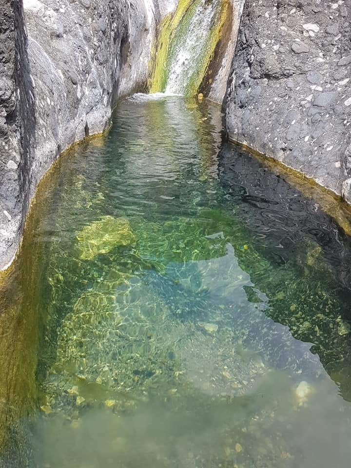 Natural pool in Shqefen village, Mat