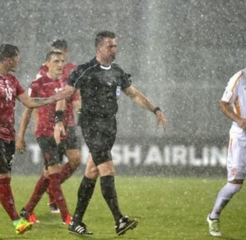 Albania-Macedonia to Finish Qualifier Match on Tuesday