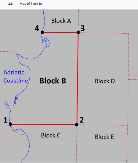 Oil Block B map