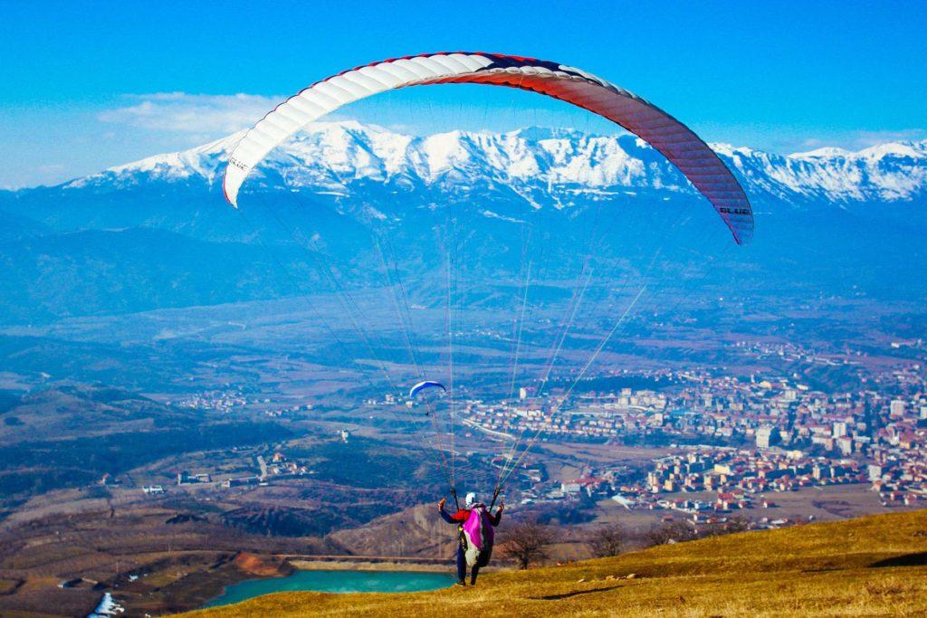 Paragliding in Dibra