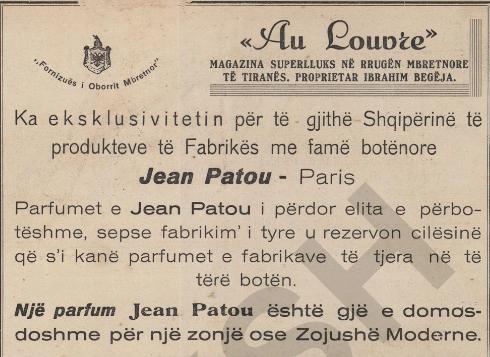 jean patou Paris
