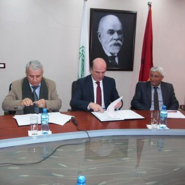 Ministry of Agriculture and the AUT will make joint efforts in the protection of plants