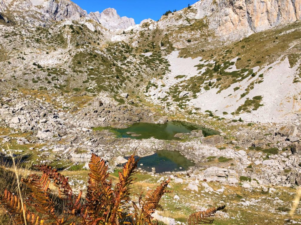 Peja Pass Lakes in Thethi