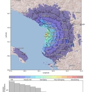 Magnitude 5.1 Earthquake Shakes Albania