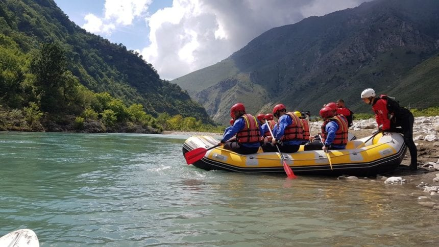 Rafting on Vjosa River- One of the Wonders of Europe