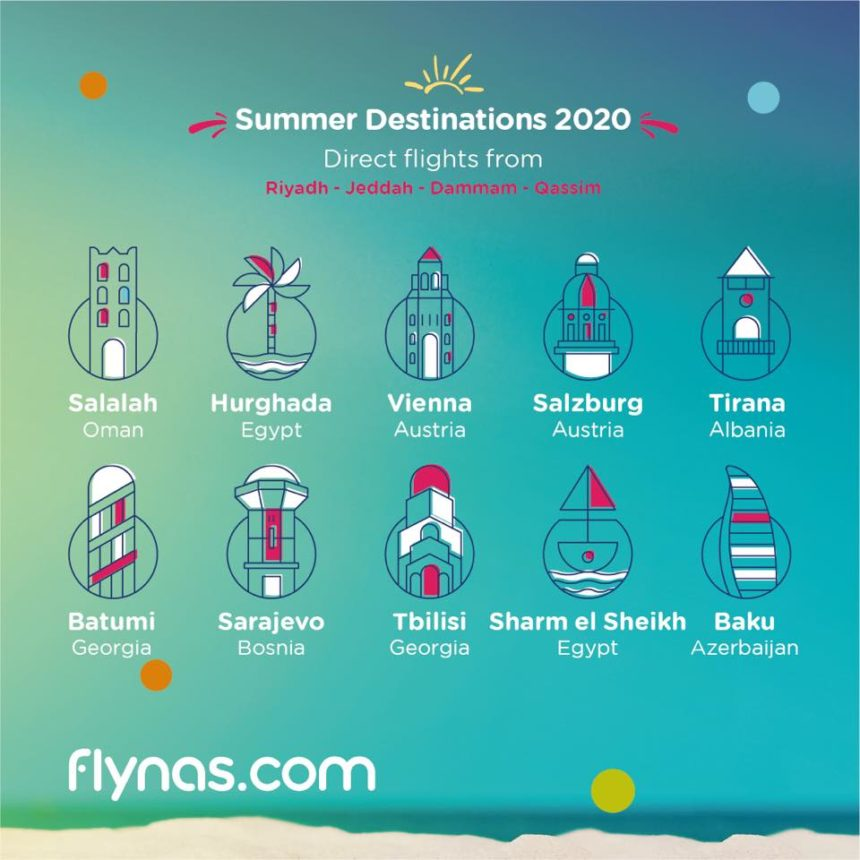 flynas to Launch Tirana-Riyadh Route this Summer