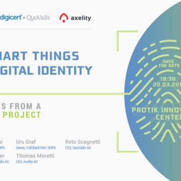 Save the Date for 'How Smart Things get a Digital Identity'