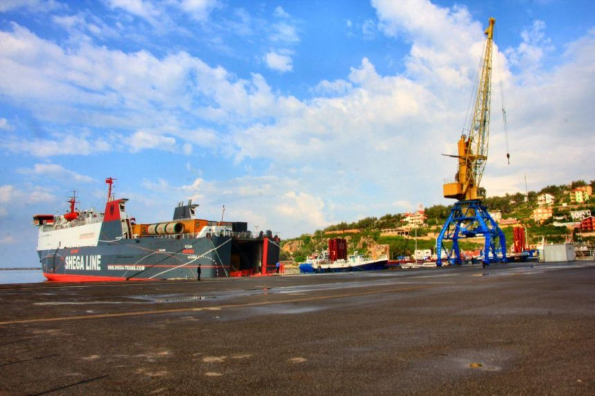 New Freight Ferry Line Shengjin-Ravena Starts Operating