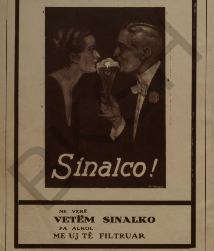 Sinalco refreshing beverage