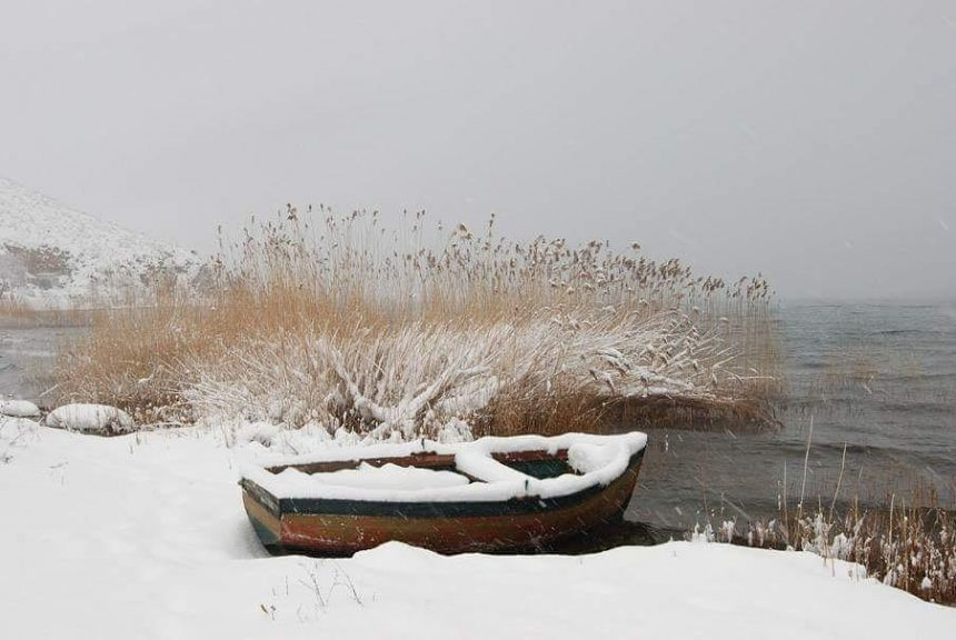 Ohrid Lake in Wintertime in Six Stunning  Photos