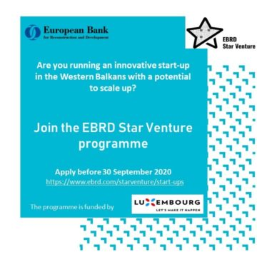 EBRD Launches Program for Innovative Startups in WB6