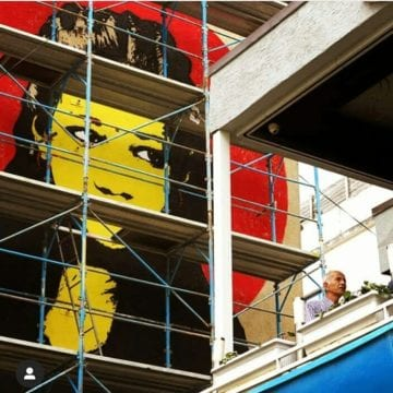 MurAl Fest 2019, New Portraits overlook Tirana