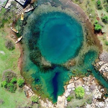 Explore the Eye of Shegan Natural Spring