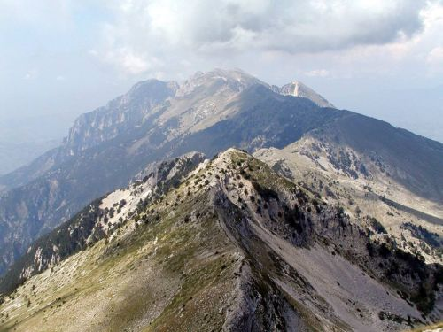 Peak of the Tomorri Mountain