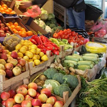 Agricultural products' prices have declined