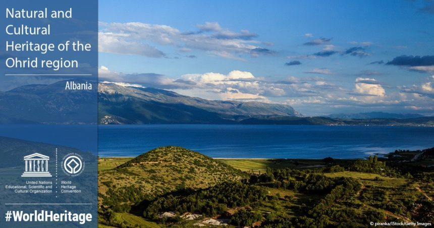 Albanian Part of Ohrid Lake Inscribed on UNESCO World Heritage List