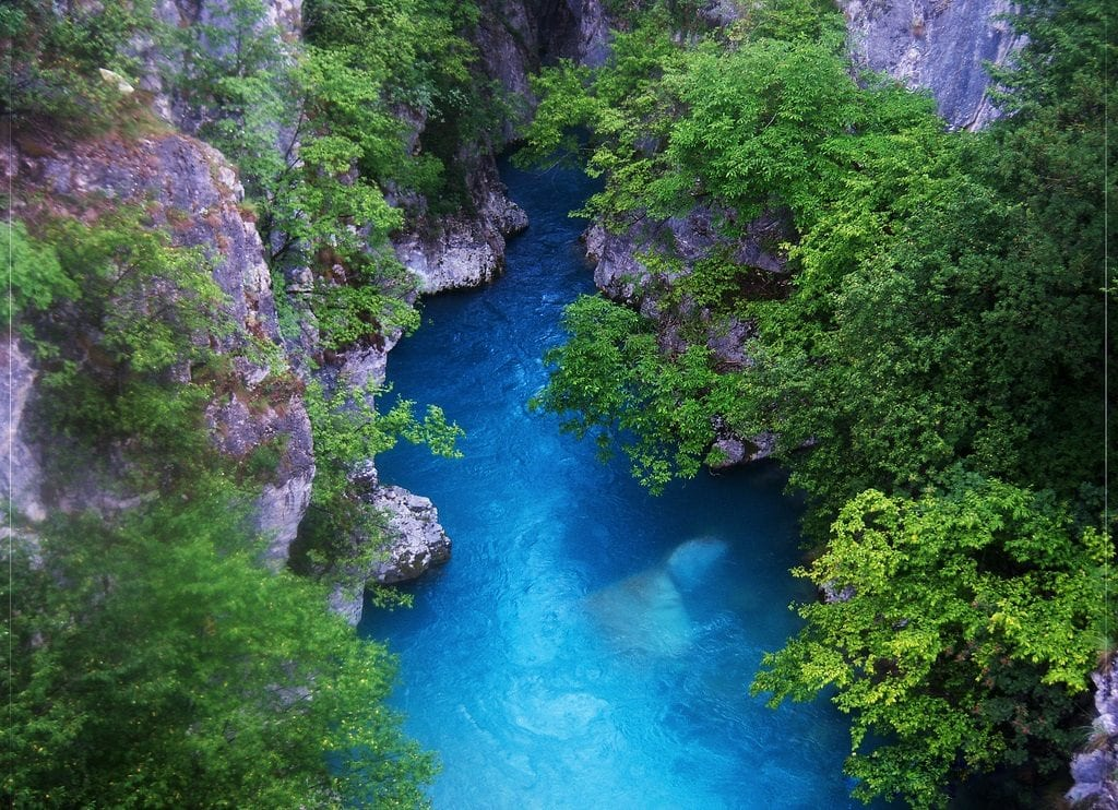 Image of the River in Valbona