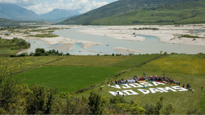 Petition to Drop Destructive Hydropower in the Balkans and to Save the Blue Heart of Europe Delivered to EBRD